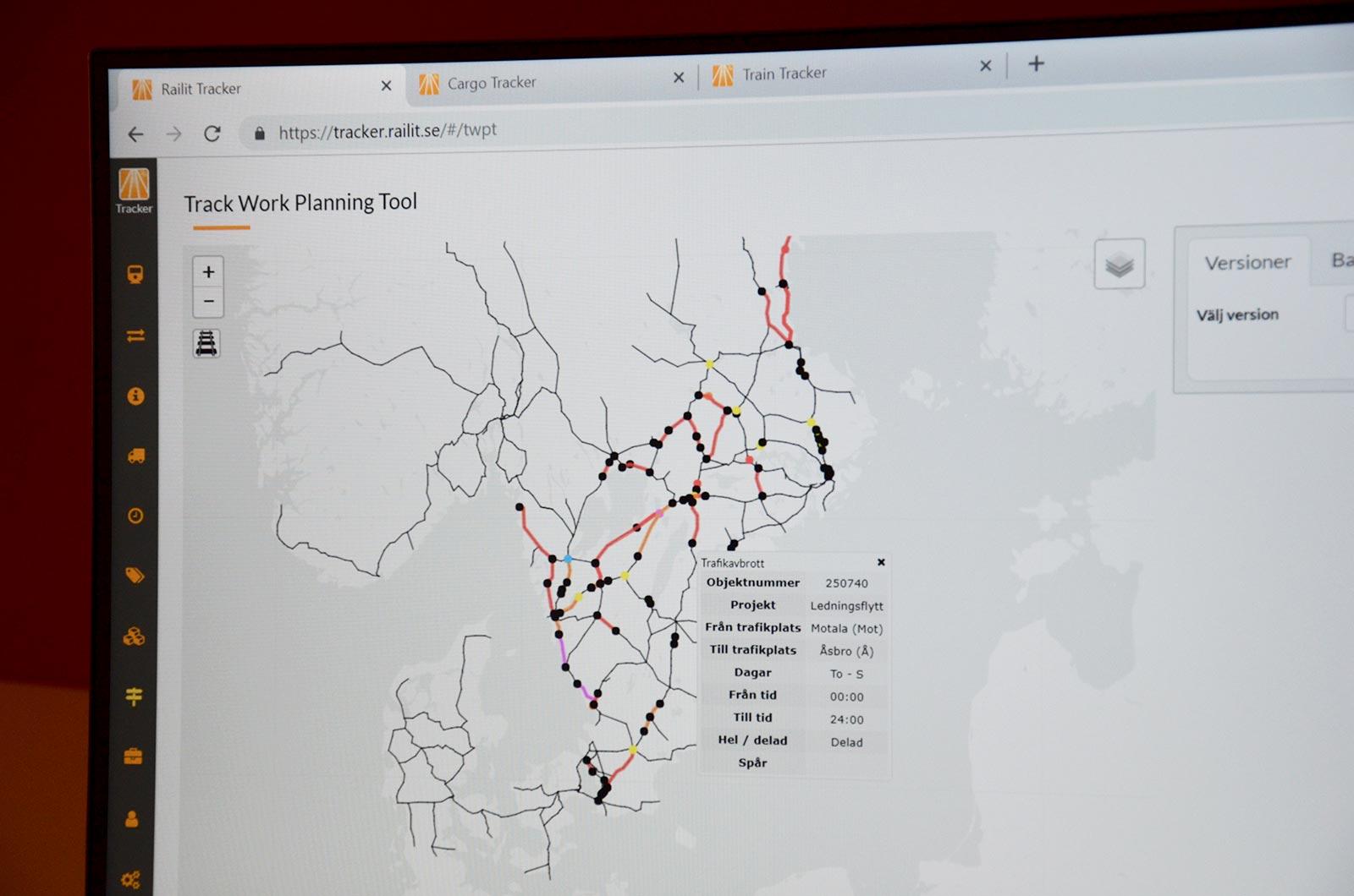 Track Work Planning Tool
